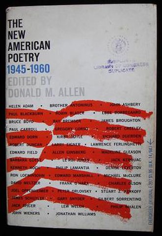 The New American Poetry 1945–1960 - First edition