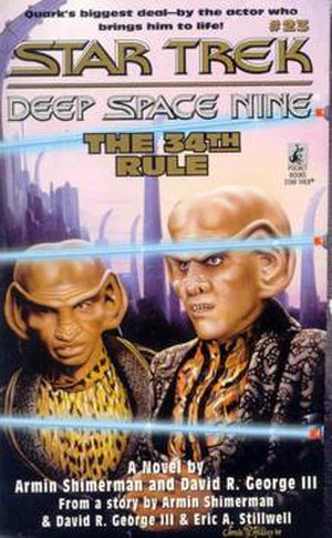 The 34th Rule - The cover of The 34th Rule