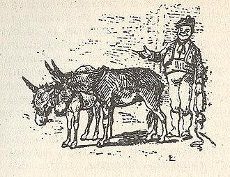 """The Coachman - Image: The Coachman, from """"L'avventure di Pinocchio"""""""