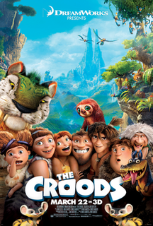 <i>The Croods</i> 2013 film directed by Kirk DeMicco and Chris Sanders