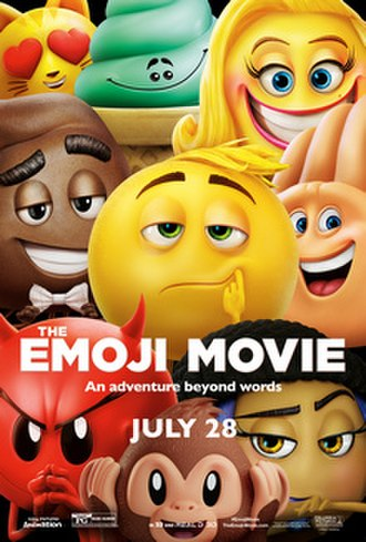 The Emoji Movie - Theatrical release poster