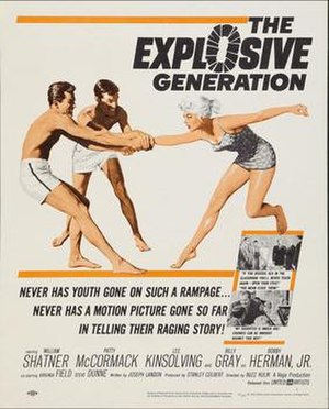 The Explosive Generation - Theatrical release poster