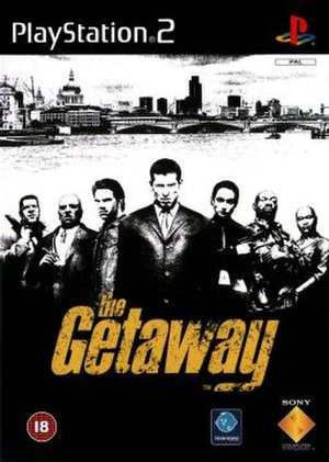 The Getaway (video game) - Image: The Getaway PS2
