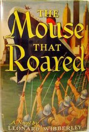 The Mouse That Roared - First edition cover