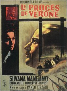 <i>The Verona Trial</i> 1962 film by Carlo Lizzani