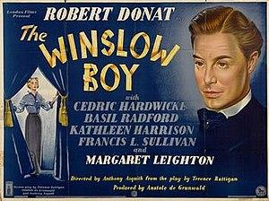 The Winslow Boy (1948 film) - Original British poster