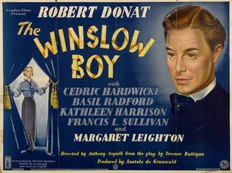The Winslow Boy (1948 film) - Original British poster