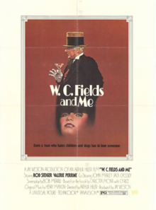 Theatrical poster for W.C. Fields and Me.png