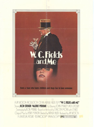 W. C. Fields and Me - Theatrical poster
