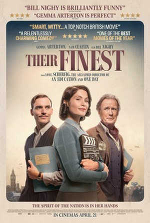 Their Finest - British theatrical release poster
