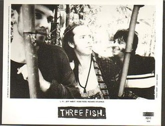 Three Fish - Three Fish in 1996, left to right: Jeff Ament, Robbi Robb and Richard Stuverud