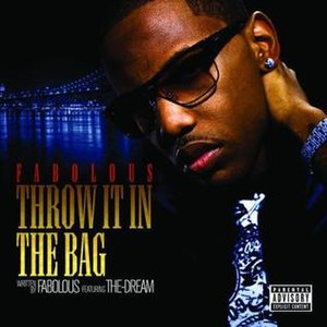 Throw It in the Bag - Image: Throw It in the Bag single cover by Fabolous