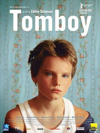 Tomboy (2011 film) - Theatrical release poster