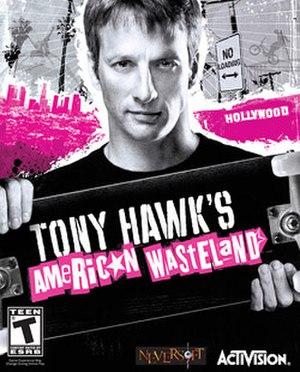 Tony Hawk's American Wasteland - Image: Tony Hawk's American Wasteland coverart
