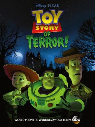 Toy Story of Terror! - Television release poster