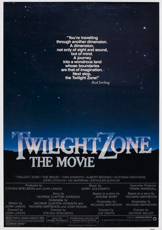 Twilight Zone: The Movie - Theatrical release poster by John Alvin