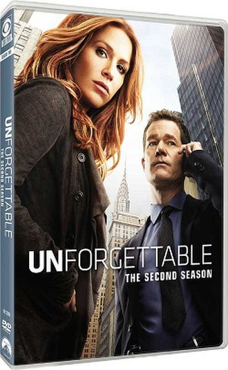 Unforgettable (season 2) - DVD cover