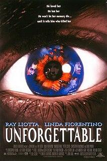 <i>Unforgettable</i> (1996 film) 1996 American film directed by John Dahl