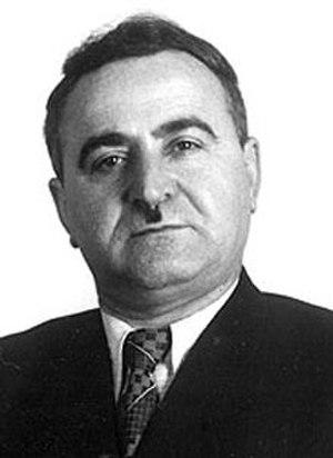 Vasil Mzhavanadze - Image: Vasil Mzhavanadze 1957