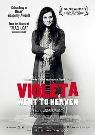 Violeta Went to Heaven - Image: Violeta Went to Heaven 2011