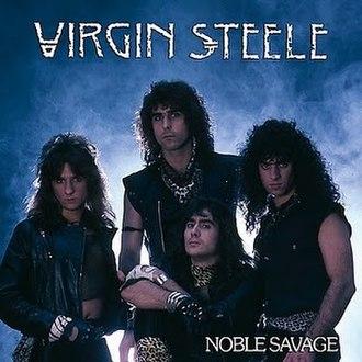 Noble Savage (album) - Image: Virgin Steele noble savage 2008