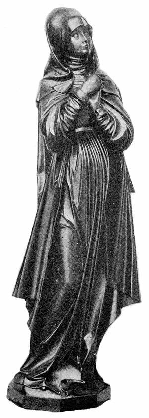 Vischer family of Nuremberg - Nuremberg Madonna attributed to Peter Vischer the Younger