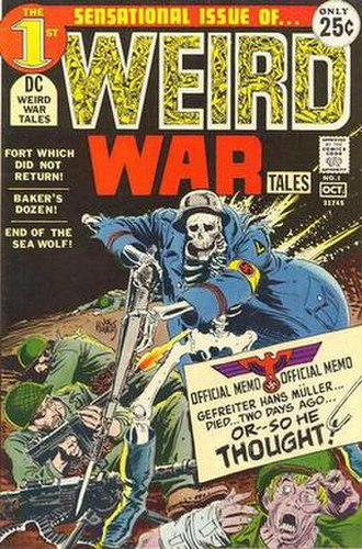 Weird War Tales - Image: Weird War Tales 1971 1