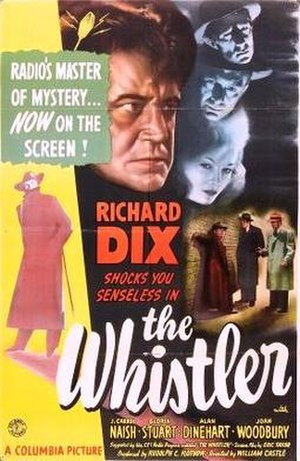 The Whistler (1944 film) - Theatrical release poster