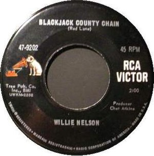 Blackjack County Chain - Image: Willie Nelson Blackjack County Chain