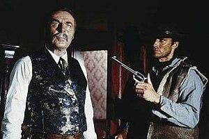 Wolfgang Lukschy - Lukschy as John Baxter in A Fistful of Dollars (1964) alongside Clint Eastwood