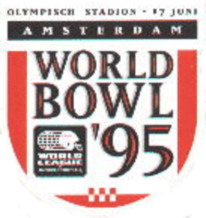 World Bowl '95 - Image: World Bowl III Logo