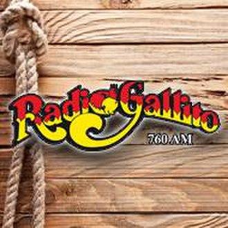 XEZZ-AM - Image: XEZZ Radio Gallito 760 logo