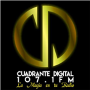 XHETA-FM - Image: XHETA Cuadrante Digital 107.1 logo