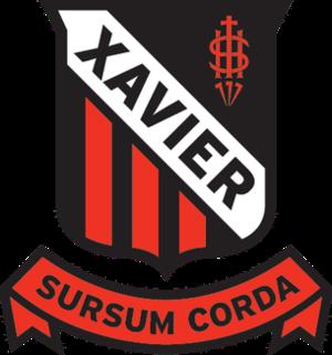 Xavier College - Image: Xavier College Crest
