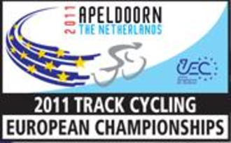 2011 UEC European Track Championships - Image: 2011 European Track Championships logo