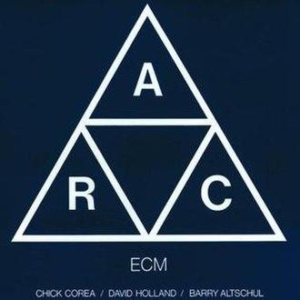 A.R.C. (album) - Image: A R C (album)