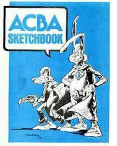 Academy of Comic Book Arts (1975 sketchbook - cover)