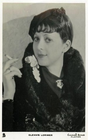 Glennis Lorimer - Gaumont British Picture Card, 1933