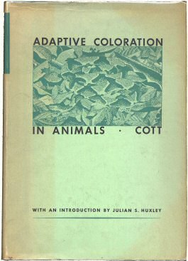 Adaptive Coloration in Animals by Hugh Cott 1st Am Edn 1940 cover