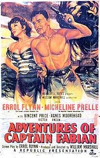 <i>Adventures of Captain Fabian</i> 1951 film by Robert Florey