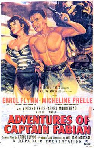 Adventures of Captain Fabian - 1951 Theatrical Poster