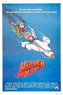 1982 sequel to the 1980 American comedy film Airplane! directed by Ken Finkleman