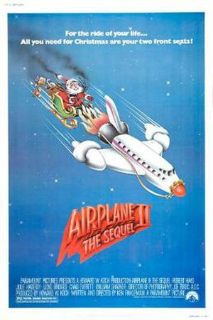 Airplane II: The Sequel - Theatrical release poster