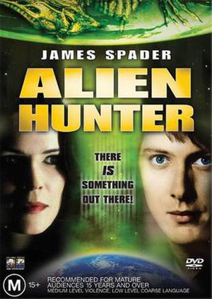 Alien Hunter - Alien Hunter Australian DVD cover
