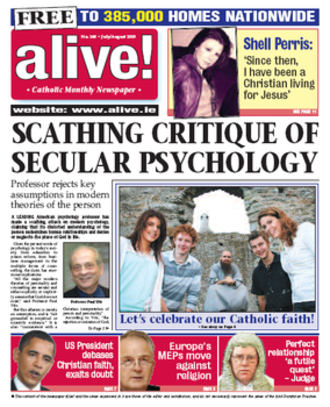 Alive! (newspaper) - Image: Alive newspaper