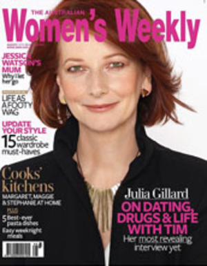 The Australian Women's Weekly - Julia Gillard on the July 2010 cover