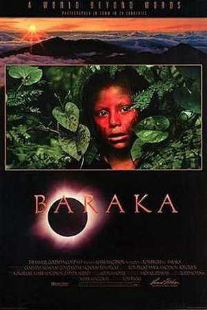 Baraka (film) - Theatrical release poster