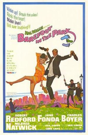 Barefoot in the Park (film) - Theatrical release poster