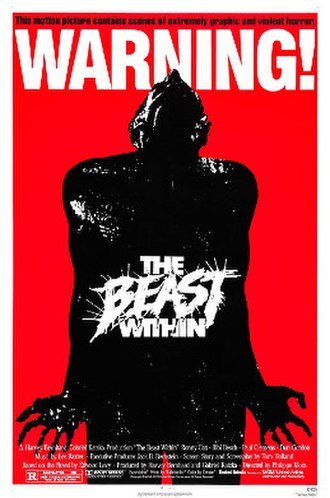 The Beast Within - Theatrical release poster