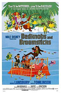 <i>Bedknobs and Broomsticks</i> 1971 film by Robert Stevenson
